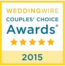 Wedding Wire 2015 - Couples Choice
