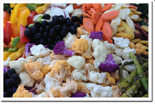 Busy Bee Catering - Vegetable Tray
